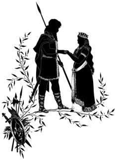 couple-silhouette-5-knight-and-queen-hold-hands